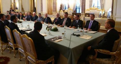 Cumhurbaşkanı Erdoğan, Gümüşdağ ve vakıf üyelerini kabul etti