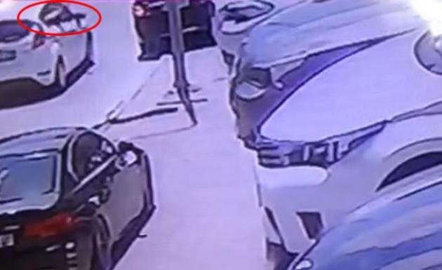 Bostancı cinayeti kameralara böyle takıldı