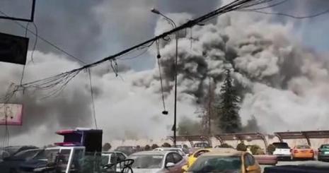 Hava Saldırısı böyle görüntülendi